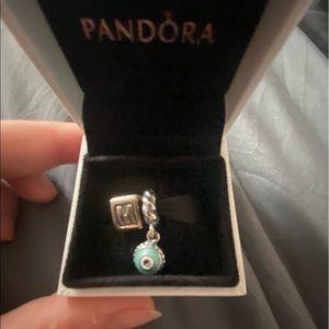 Pandora charms, silver